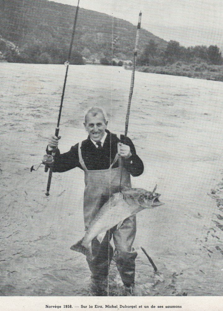 Michel Duborgel Norvège 1958