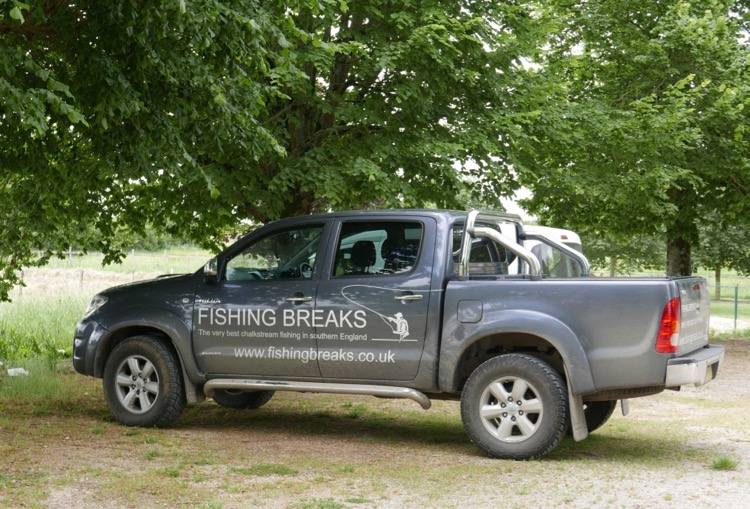 Fishing Breaks pick-up UK