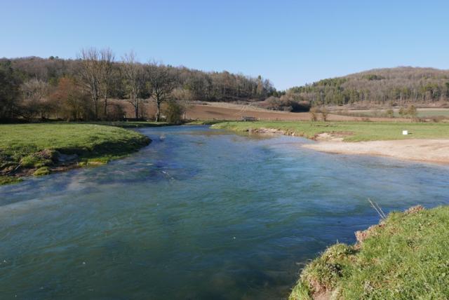 Rivière Côte d'Or 25 février 2018