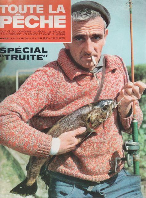 Reveu Toute le Pêche Michel Duborgel %22Petits vairons, grosses truites%22