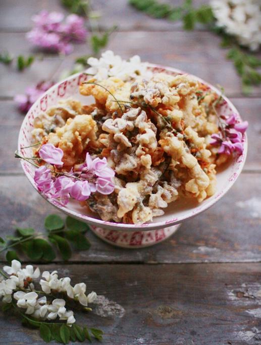 Beignets fleurs d'acacia ou robinier (cuisine-campagne.com)