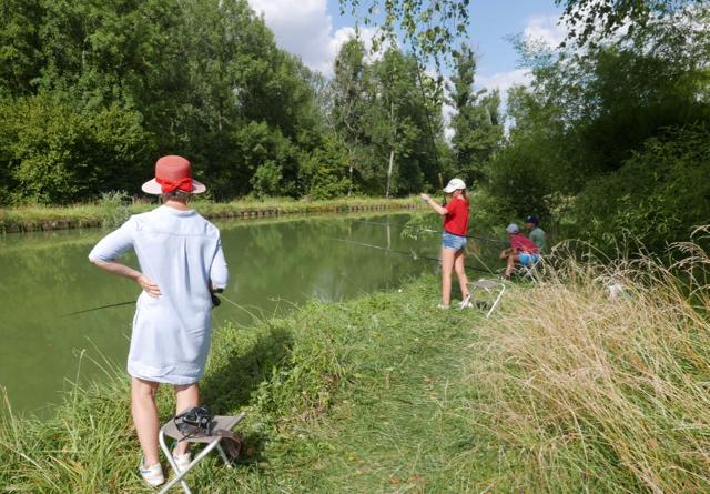 Concours de pêche au coup
