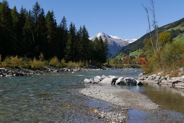 Rivière principale 1350 mètres