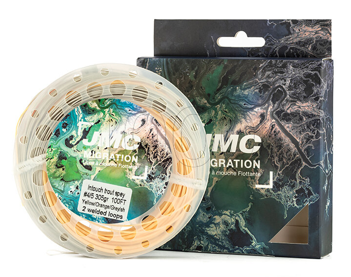 Soie flottante JMC Migration Switch %22Trout Spey%22 2:3 (230 gr) 1000mouches.fr