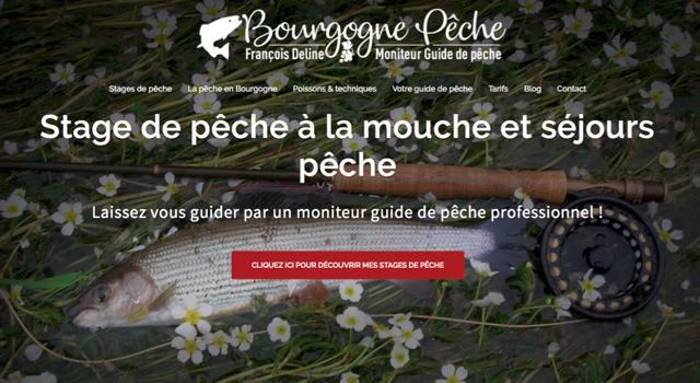 Nouveau site internet Bourgognepeche 2019