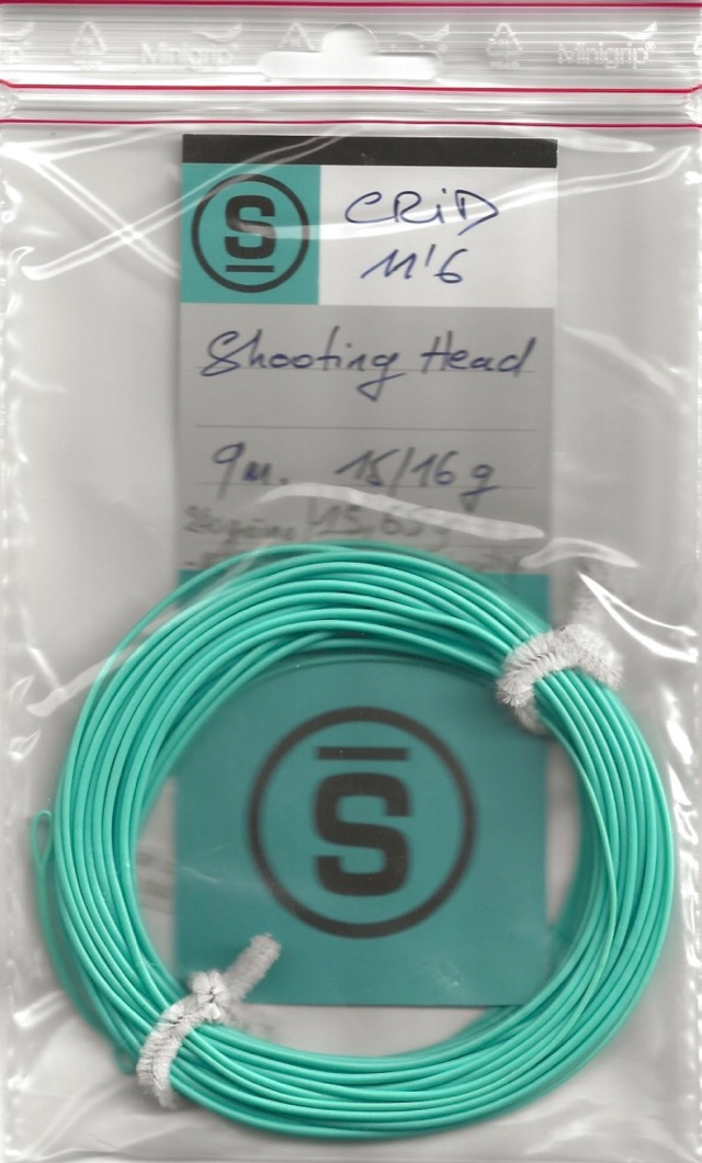 Sempé CRID 11'6 # 2:3 Shooting Head 9 5 mètres 15 65 g : 240 grains