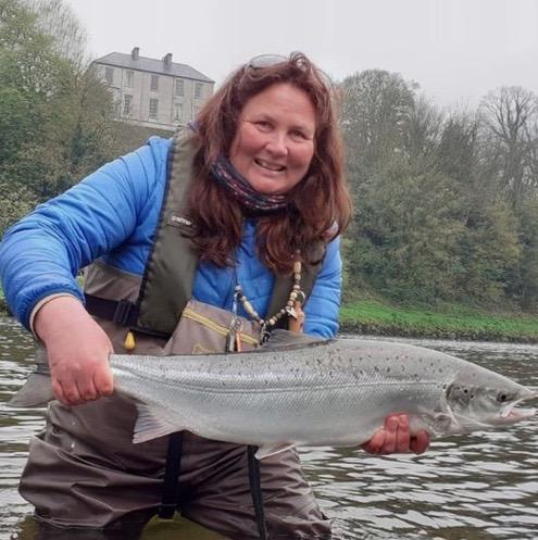 Glenda Powell Brand Ambassador Cadence Fishing UK