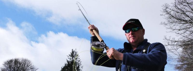 Ian Gordon Cadence Salmon Rods Ambassador